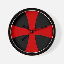 Templar 2 Wall Clock
