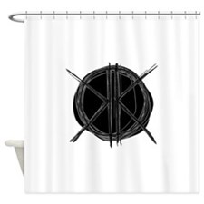 K's Circle Shower Curtain