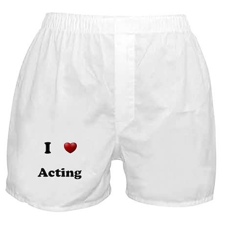 Acting Boxer Shorts