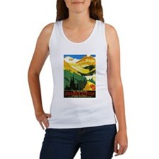 Canada Travel Poster 7 Women's Tank Top