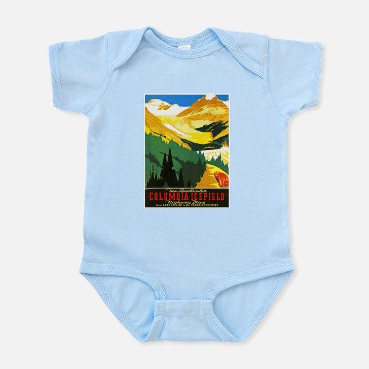 Canada Travel Poster 7 Infant Bodysuit
