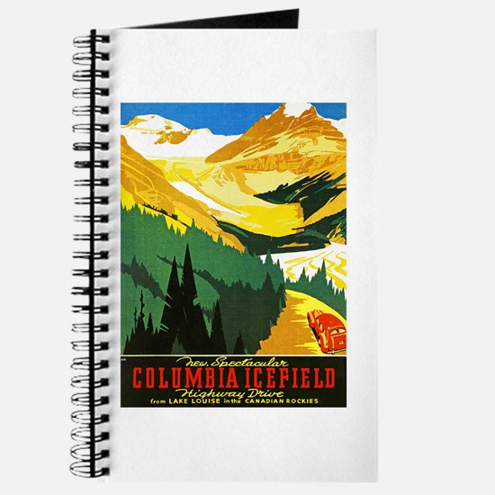 Canada Travel Poster 7 Journal