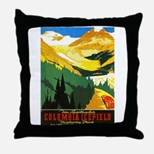 Canada Travel Poster 7 Throw Pillow