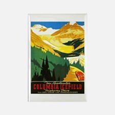 Canada Travel Poster 7 Rectangle Magnet