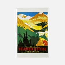 Canada Travel Poster 7 Rectangle Magnet (100 pack)