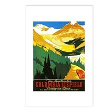 Canada Travel Poster 7 Postcards (Package of 8)