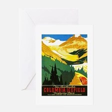 Canada Travel Poster 7 Greeting Card