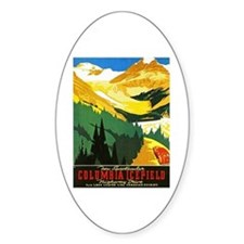 Canada Travel Poster 7 Decal