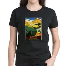 Canada Travel Poster 7 Tee