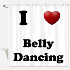 Belly Dancing Shower Curtain