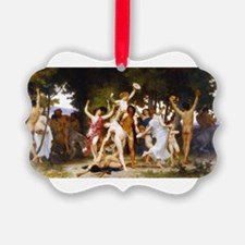 Bouguereau Youth of Bacchus Ornament