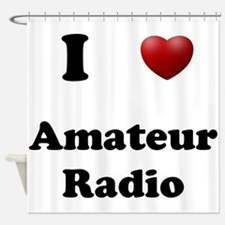 Amateur Radio Shower Curtain
