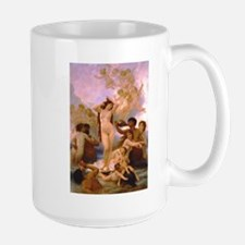 Nude Bouguereau The Birth of Venus Ceramic Mugs
