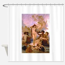 Nude Bouguereau The Birth of Venus Shower Curtain