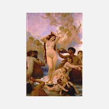Nude Bouguereau The Birth of Venus Rectangle Magne