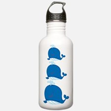 Whale Stack Water Bottle
