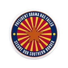 "Secure Our Southern Border 3.5"" Button"