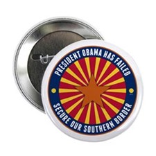 """Secure Our Southern Border 2.25"""" Button"""