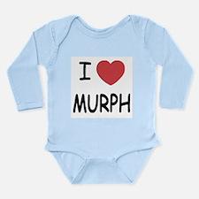 I heart MURPH Long Sleeve Infant Bodysuit