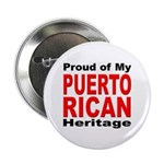 Proud Puerto Rican Heritage Button