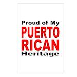 Proud Puerto Rican Heritage Postcards (Package of