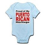 Proud Puerto Rican Heritage Infant Creeper