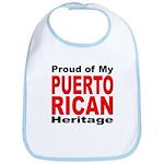 Proud Puerto Rican Heritage Bib