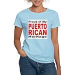 Proud Puerto Rican Heritage Women's Pink T-Shirt