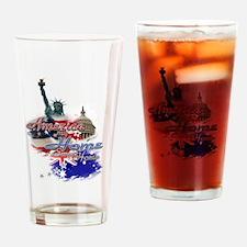 USA - Australia: Drinking Glass