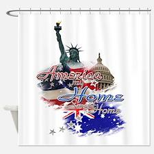 USA - Australia: Shower Curtain