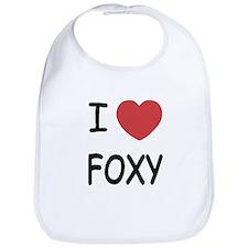 I heart FOXY Bib