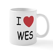 I heart WES Mug