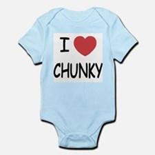 I heart CHUNKY Infant Bodysuit