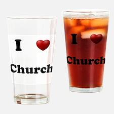 Church Drinking Glass