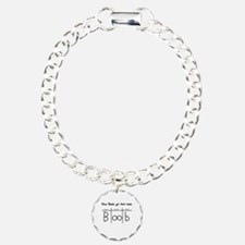 How Boobs got their name Charm Bracelet, One Charm