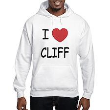 I heart CLIFF Hoodie