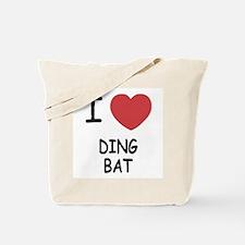 I heart DINGBAT Tote Bag