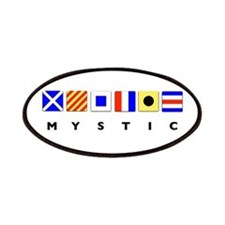 Mystic CT Nautical Signal Flags Patches
