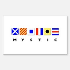 Mystic Nautical Signal Flags Decal