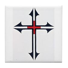 SOLDIER FOR CHRIST Tile Coaster