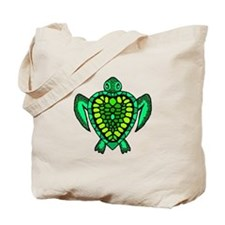 Heart Turtle w scales No Background - Green Yell T