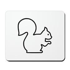 Squirrel Mousepad