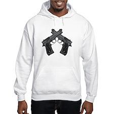 Crossed Guns Hoodie Sweatshirt
