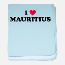 I love Mauritius baby blanket