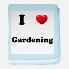 Gardening baby blanket