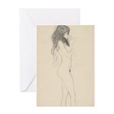 Klimt - Sketch #1 Greeting Card