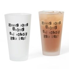 Gimme Some Anime Drinking Glass