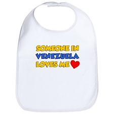 Someone In Venezuela Loves Me Bib