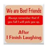 Best friends Drink Coasters