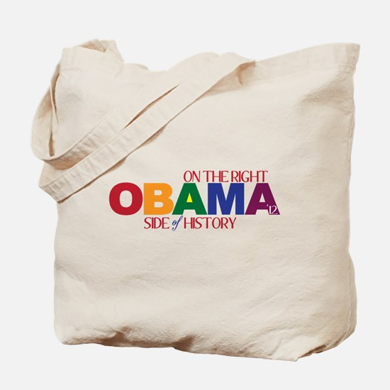 Obama 2012 Gay Marriage Tote Bag